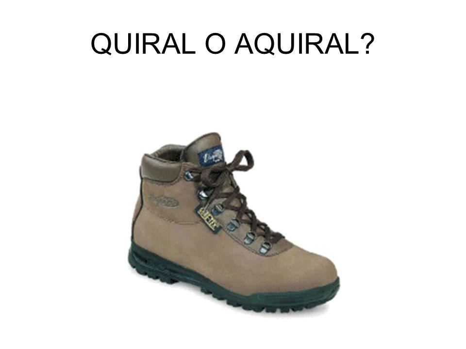 QUIRAL O AQUIRAL?