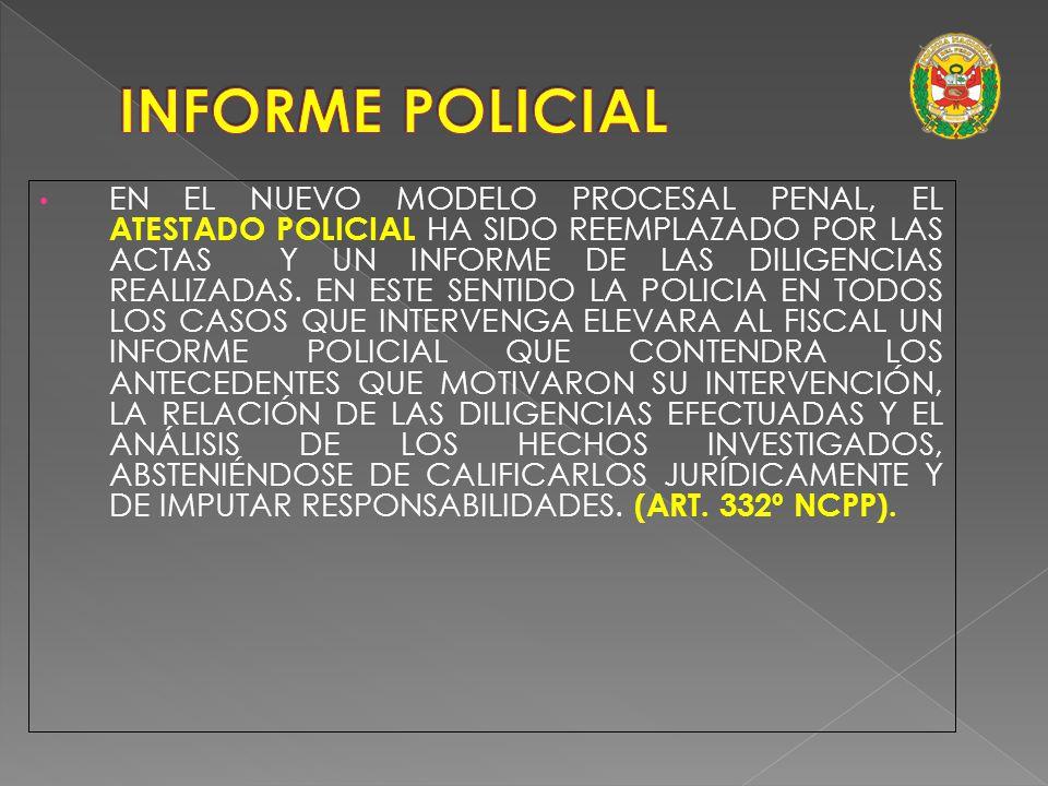 (Art. 334º NCPP) Plazo: 2. El plazo de las Diligencias Preliminares, conforme al artículo 3°, es de veinte días, salvo que se produzca la detención de