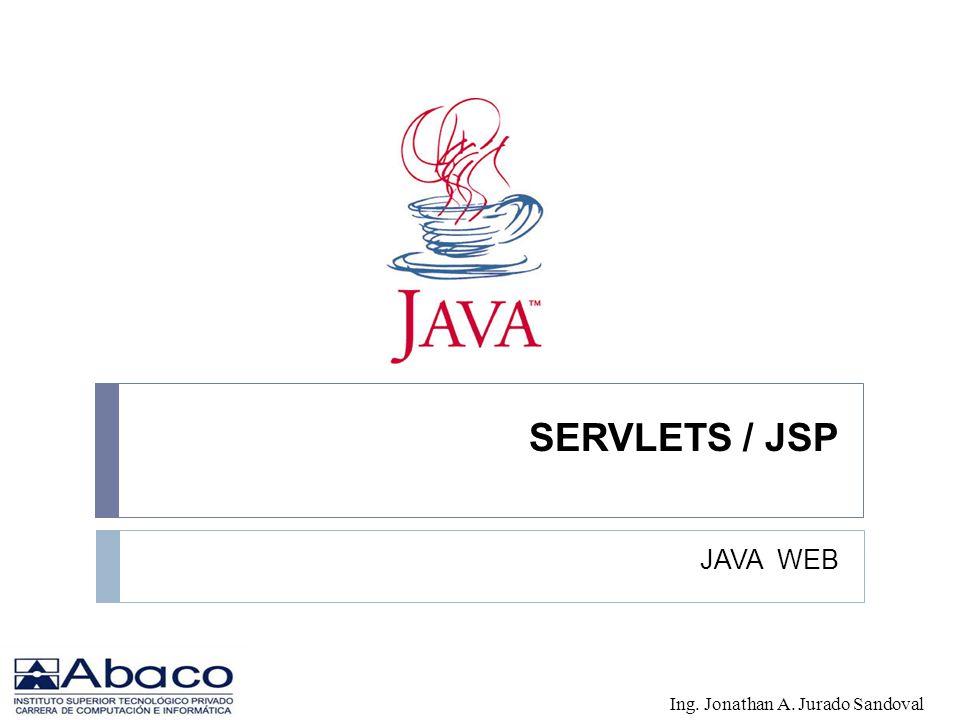 SERVLETS / JSP JAVA WEB