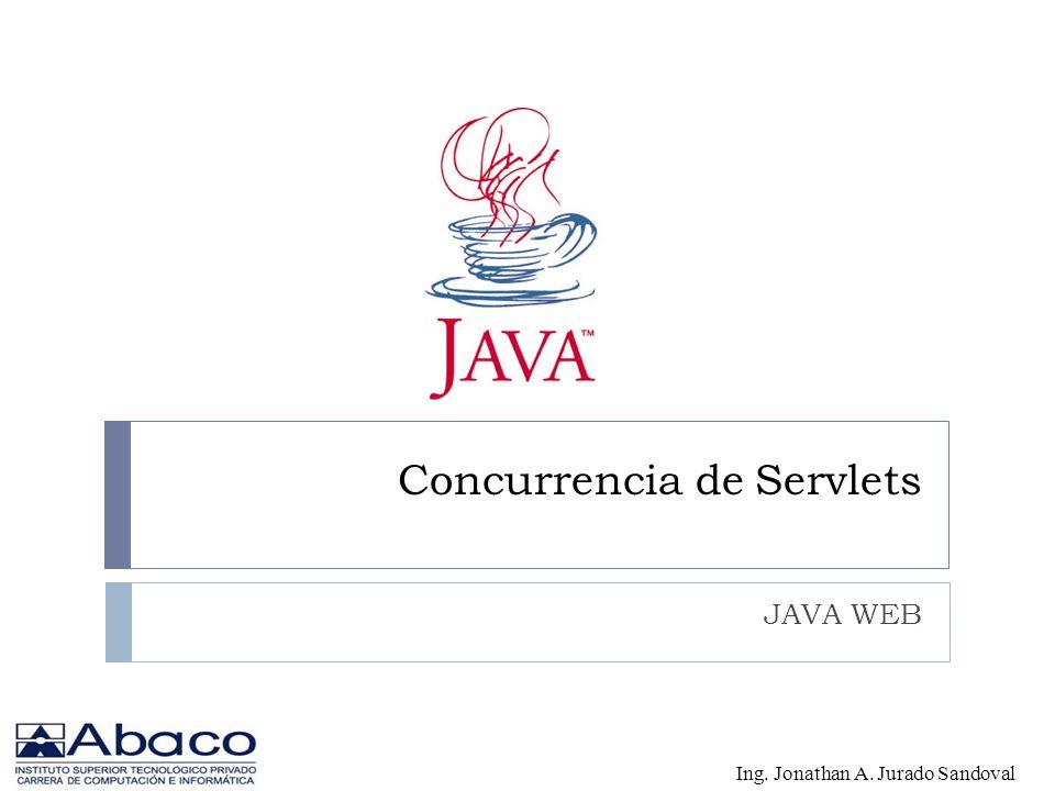 Concurrencia de Servlets JAVA WEB