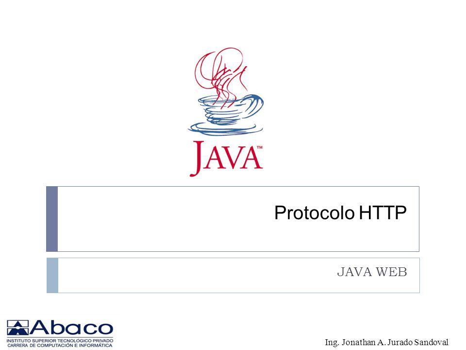Protocolo HTTP JAVA WEB