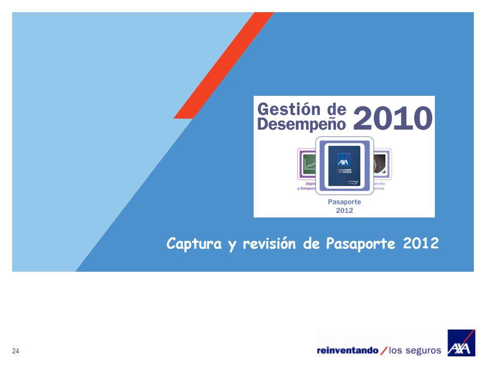 24 Captura y revisión de Pasaporte 2012