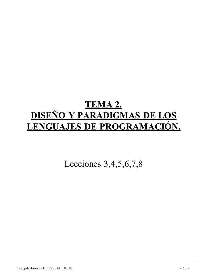 Compiladores I (10/06/2014 18:10)- 2.1 - TEMA 2.