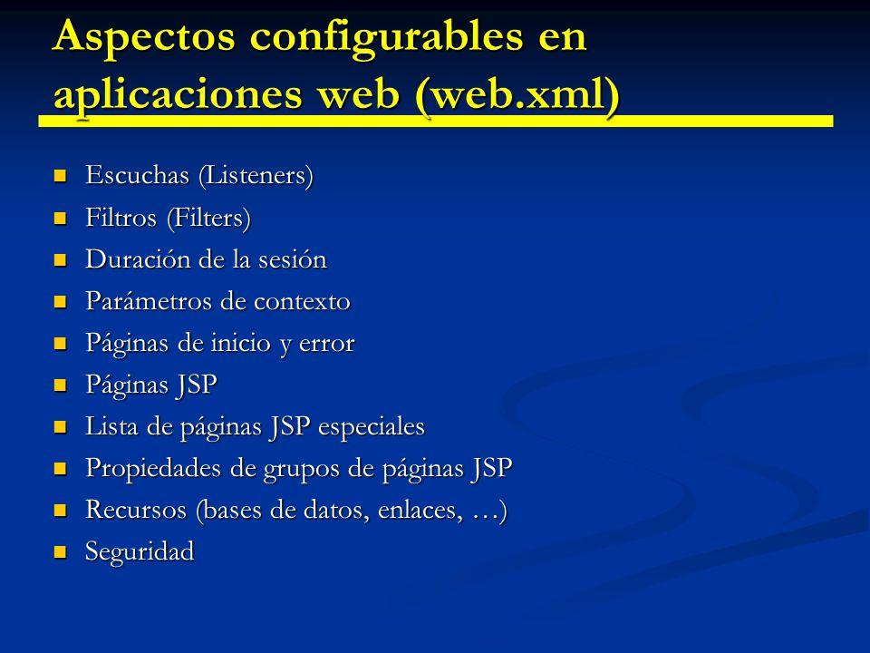 Servlets: Políticas de acceso concurrente (threading) Los servlets están diseñados para soportar múltiples accesos simultáneos por defecto.