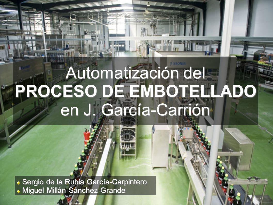 islas de automatización LLENADORA/TAPONADORA (3/4)
