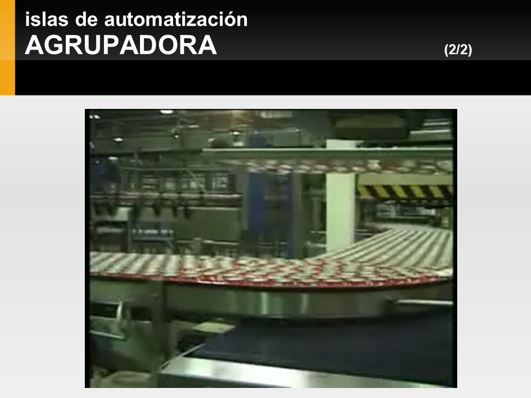 islas de automatización AGRUPADORA (2/2)