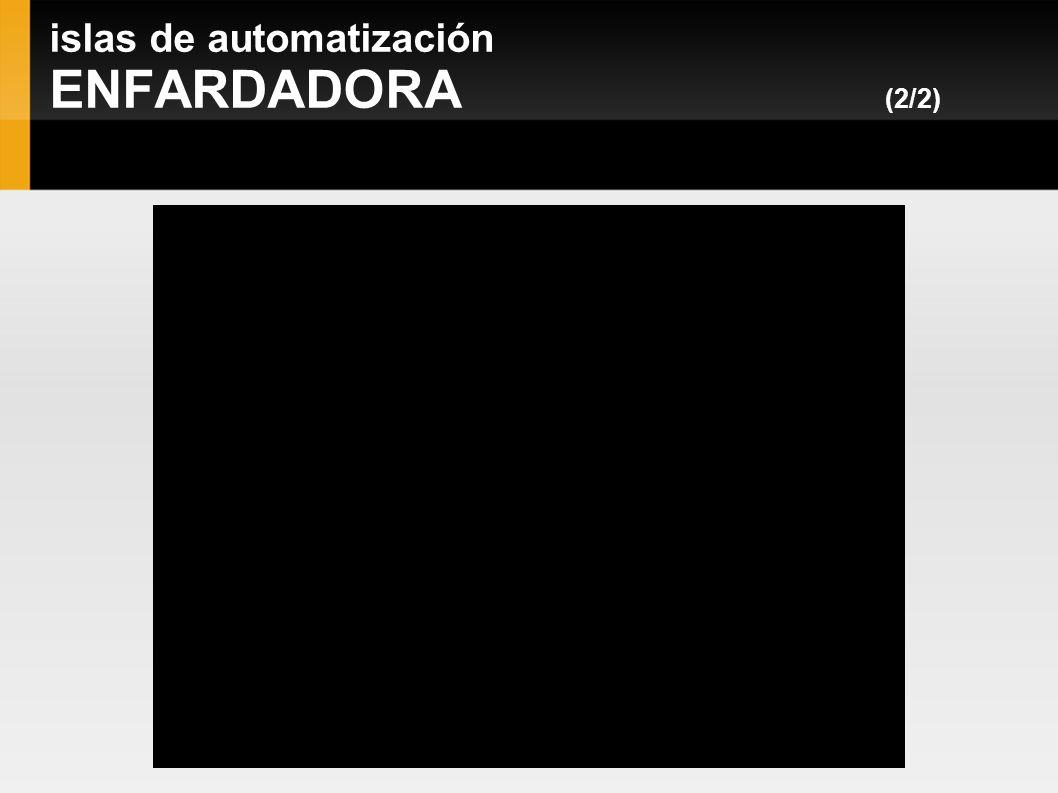 islas de automatización ENFARDADORA (2/2)