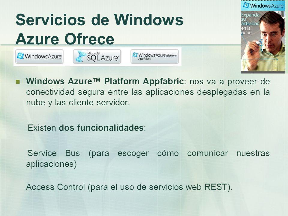 Casos de Éxito La plataforma para la nube Windows Azure ha sido elegida por más de 500 clientes para desarrollar aplicaciones de todo tipo y por más de 150 compañías fabricantes de software en nuestro país.