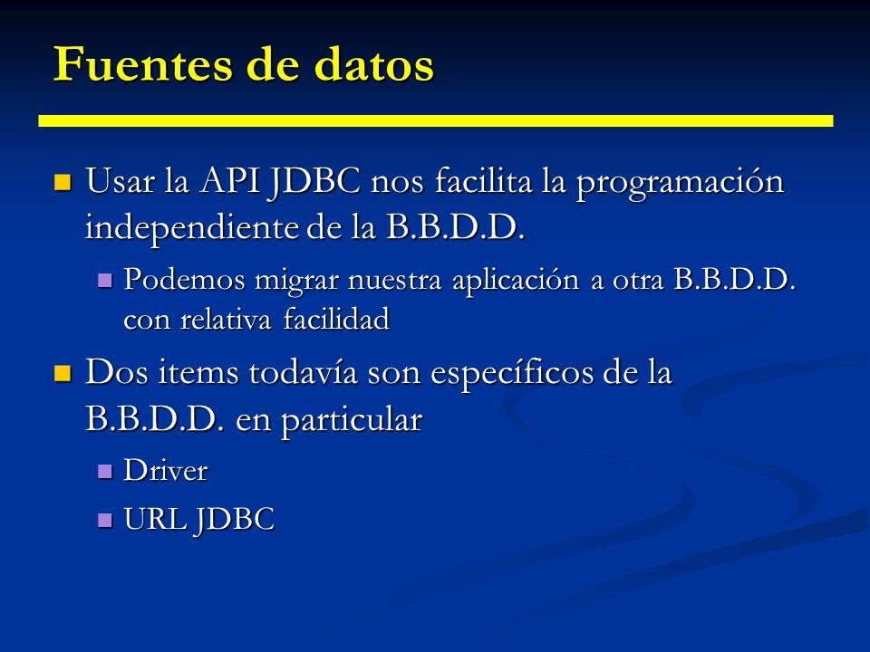 Sentencias preparadas //Método para insertar un registro en la tabla Propietarios. Los //argumentos del método son el DNI, nombre y edad. public void