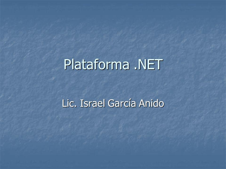 Microsoft.Net Microsoft.NET es el conjunto de nuevas tecnologías en las que Microsoft ha estado trabajando durante los últimos años con el objetivo de obtener una plataforma sencilla y potente para distribuir el software en forma de servicios que puedan ser suministrados remotamente y que puedan comunicarse y combinarse unos con otros de manera totalmente independiente de la plataforma, lenguaje de programación y modelo de componentes con los que hayan sido desarrollados.