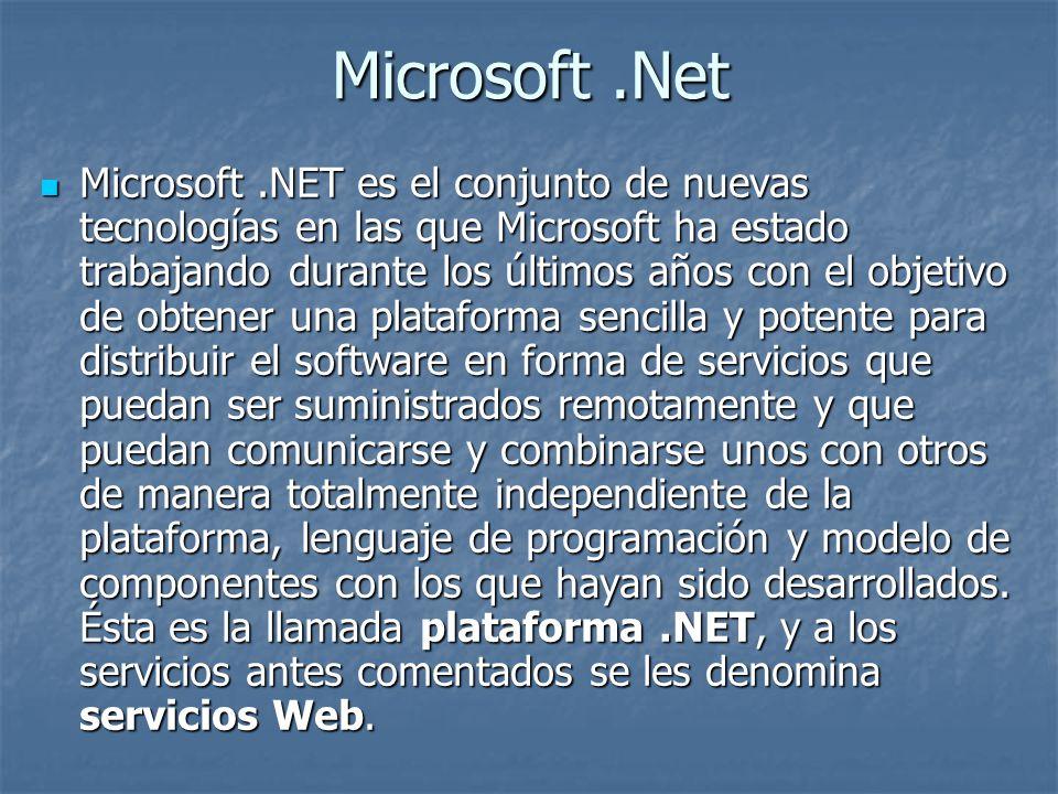 .NET Framework.