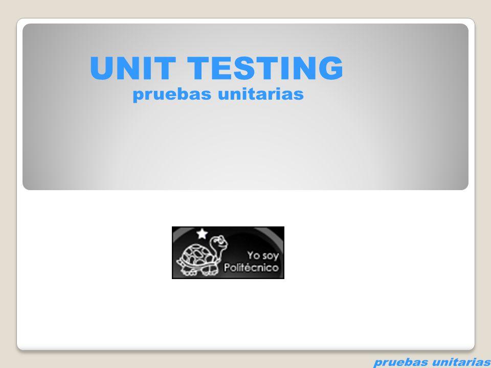Test = prueba, examen ¿Qué prueban en un software.