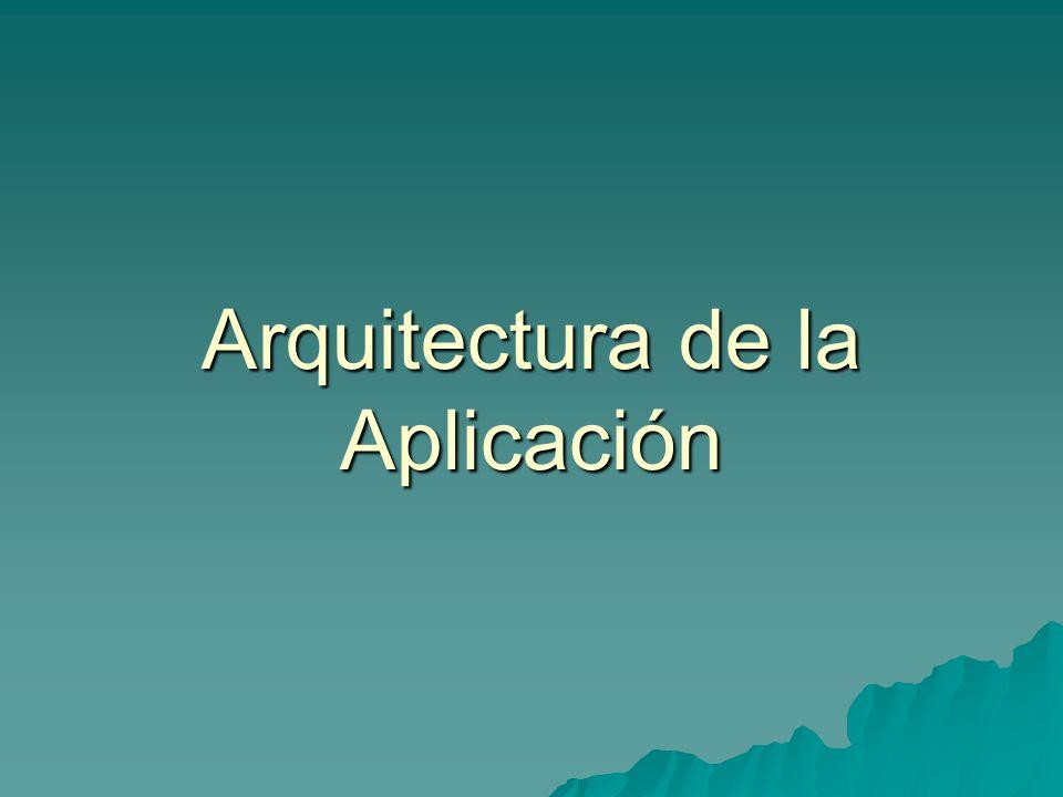 Arquitectura aplicación.