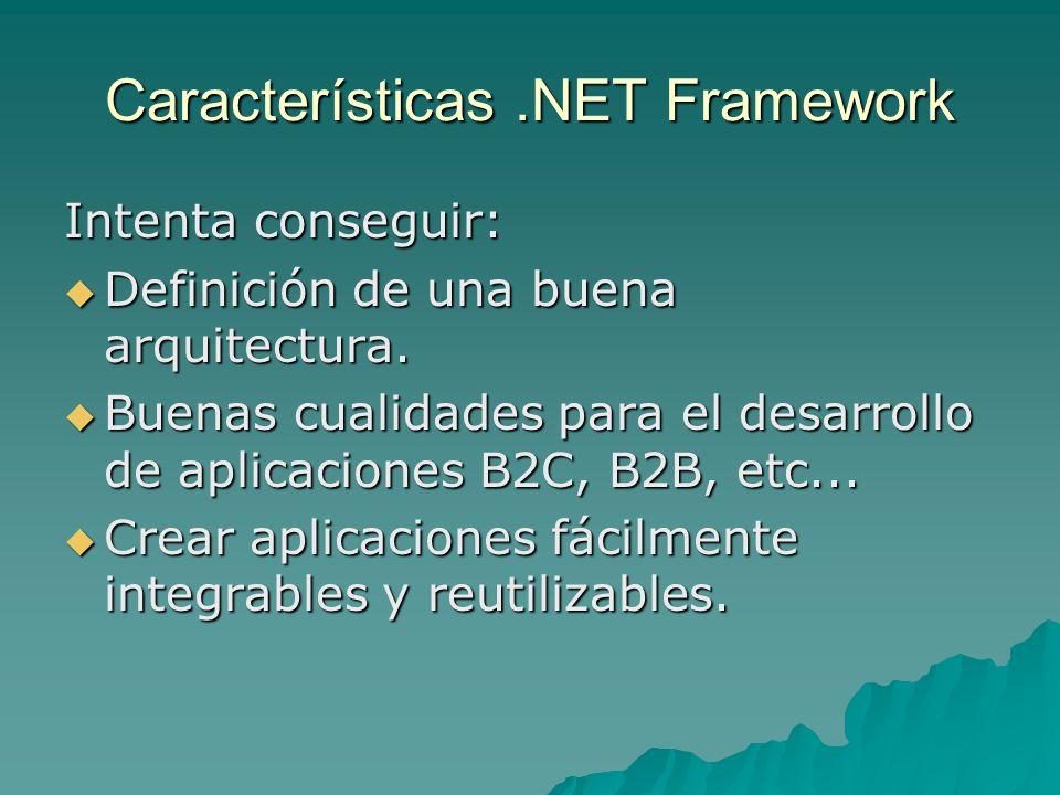 Business Entities Se usan como Data Transfer Objects entre capas.
