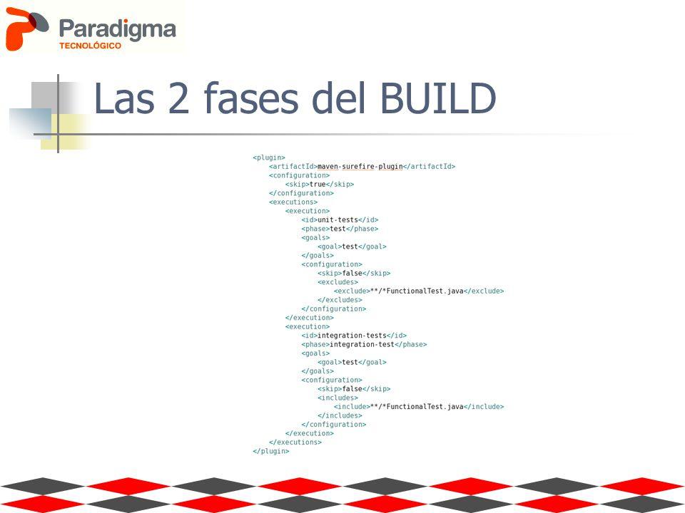 Las 2 fases del BUILD