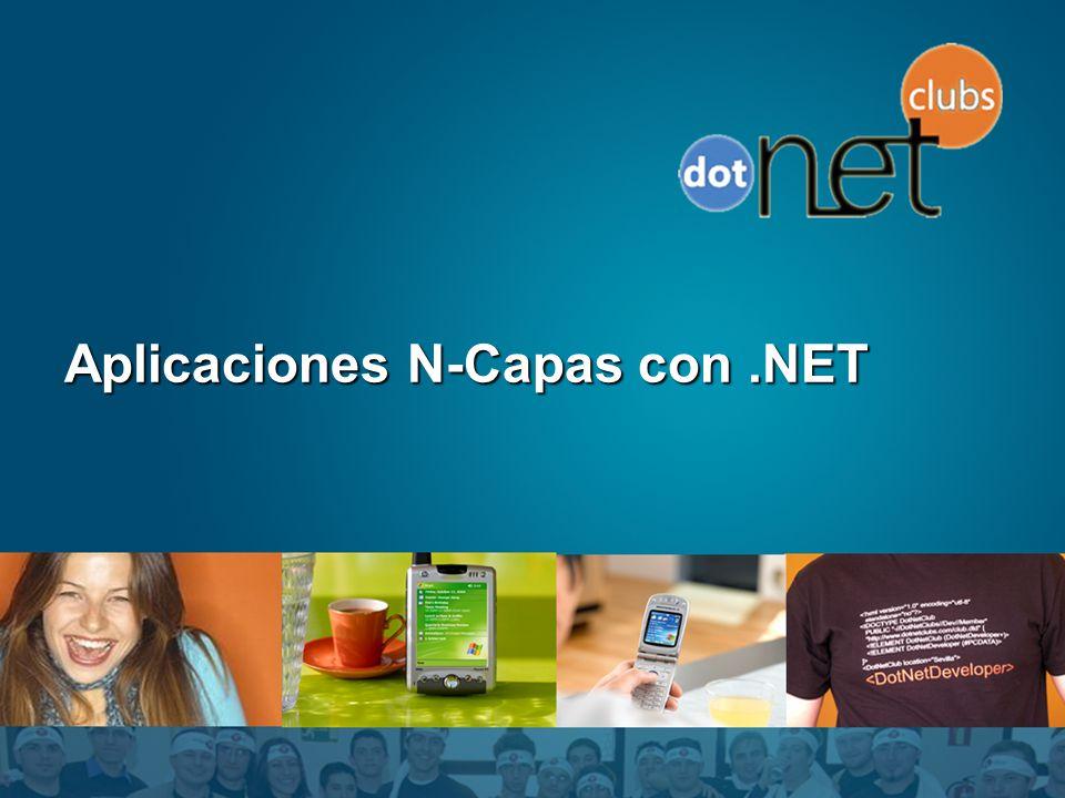 Aplicaciones N-Capas con.NET