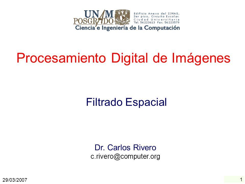 1 Archivos PDF : Sistema MOVILE de la UP Procesamiento Digital de Imágenes Dr. Carlos Rivero c.rivero@computer.org Ingeniería en Sistemas Computaciona