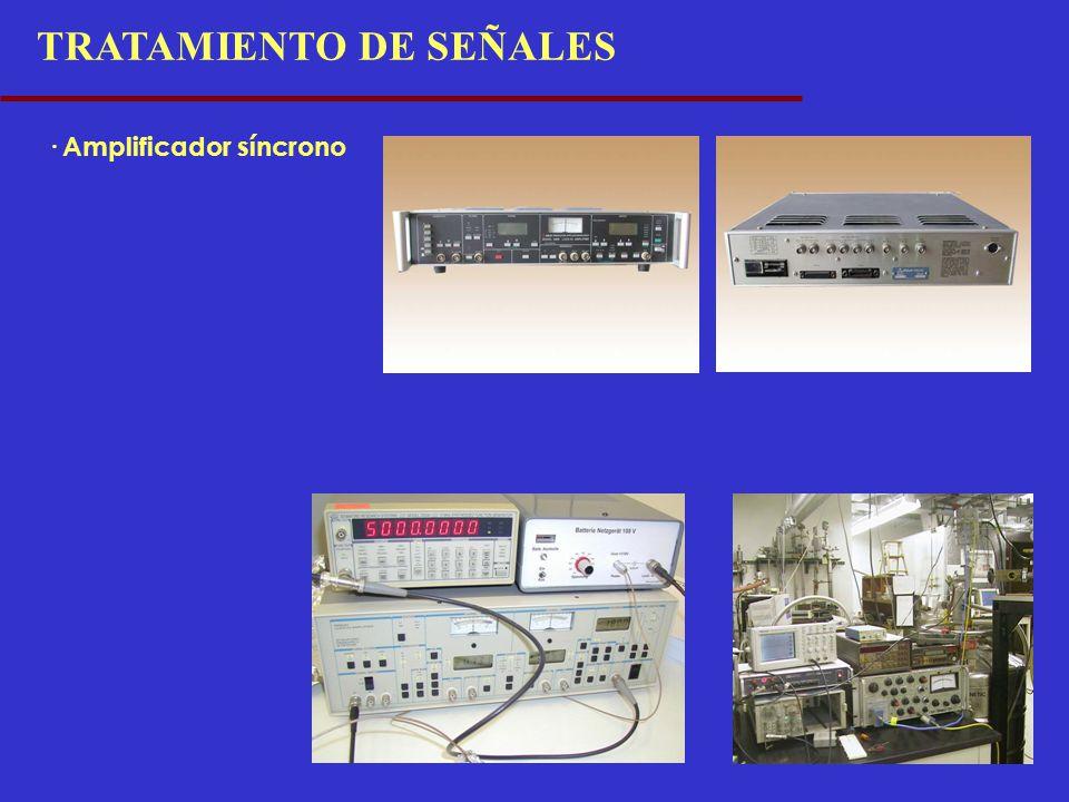 TRATAMIENTO DE SEÑALES · Amplificador síncrono