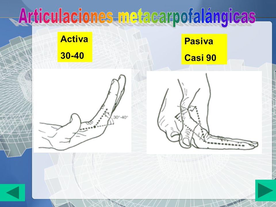 Activa 30-40 Pasiva Casi 90