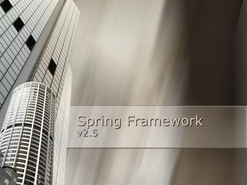 Spring Framework v2.5