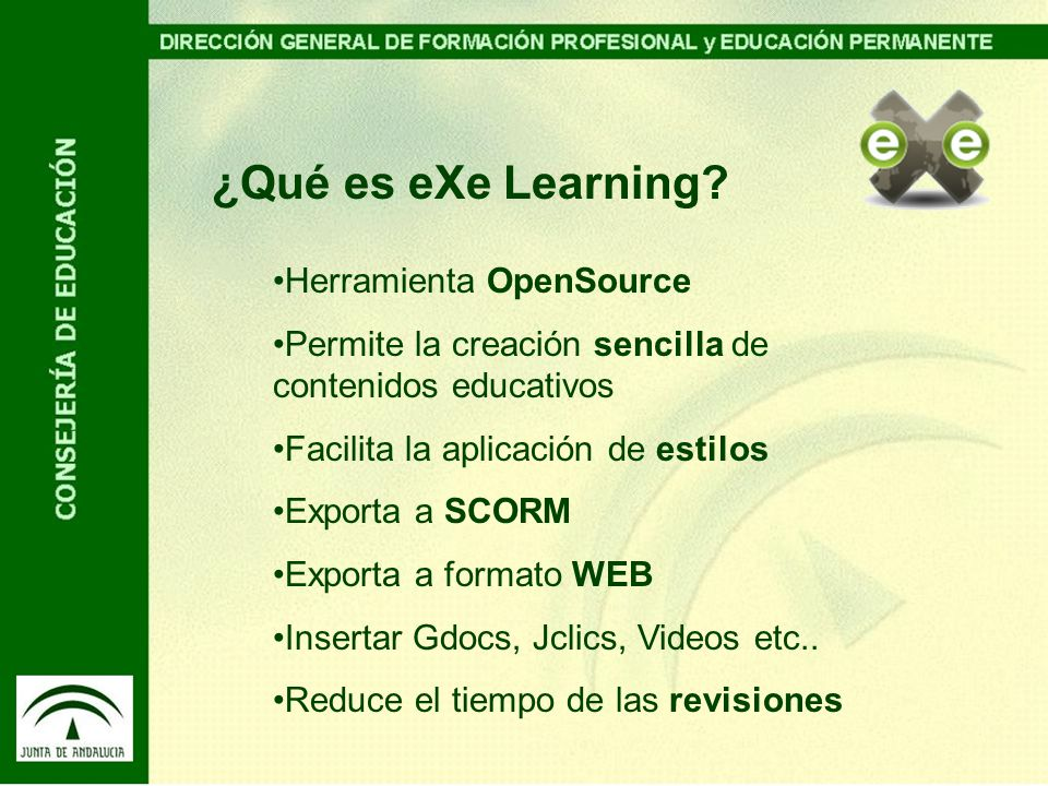 ¿Qué es eXe Learning.