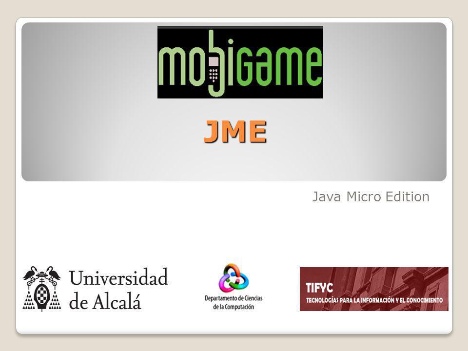 JME Java Micro Edition