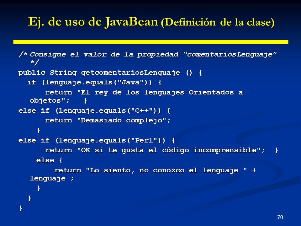 70 /*Consigue el valor de la propiedad comentariosLenguaje */ public String getcomentariosLenguaje () { if (lenguaje.equals(