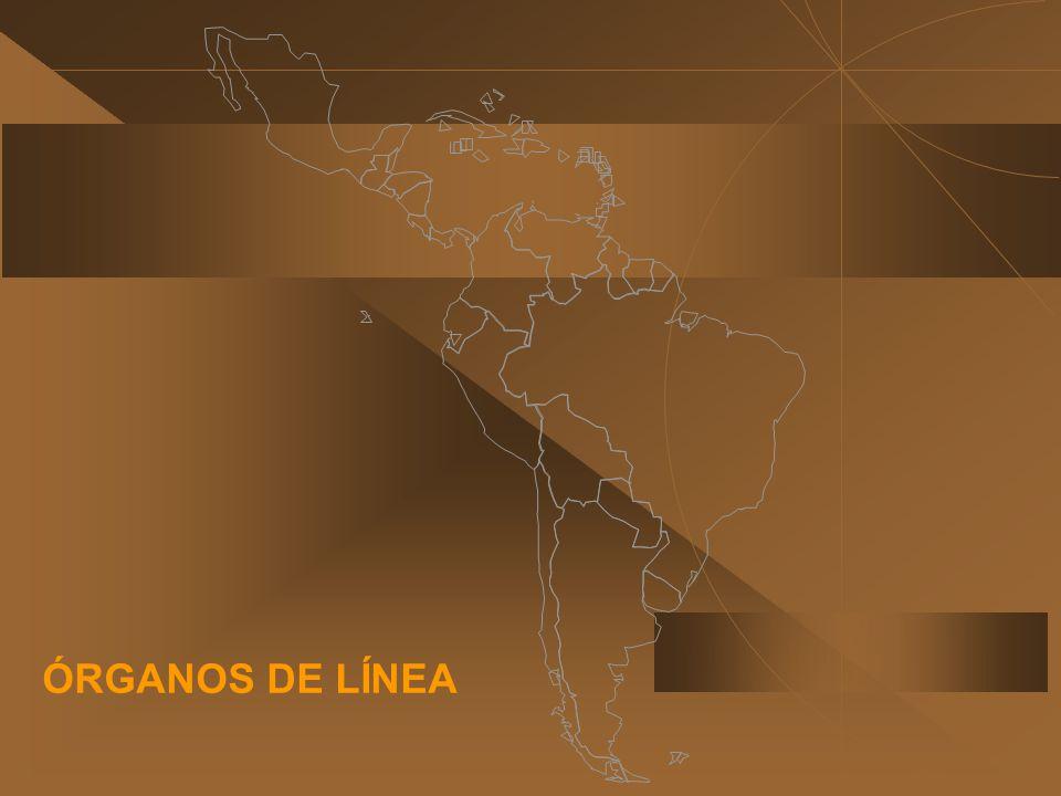 ÓRGANOS DE LÍNEA
