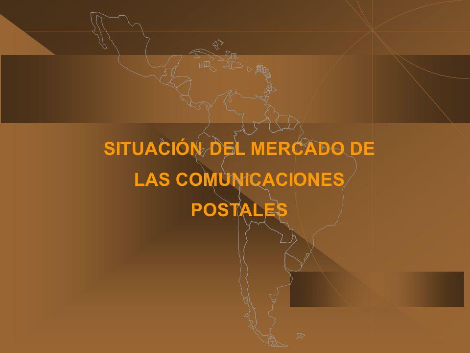 SITUACIÓN DEL MERCADO DE LAS COMUNICACIONES POSTALES