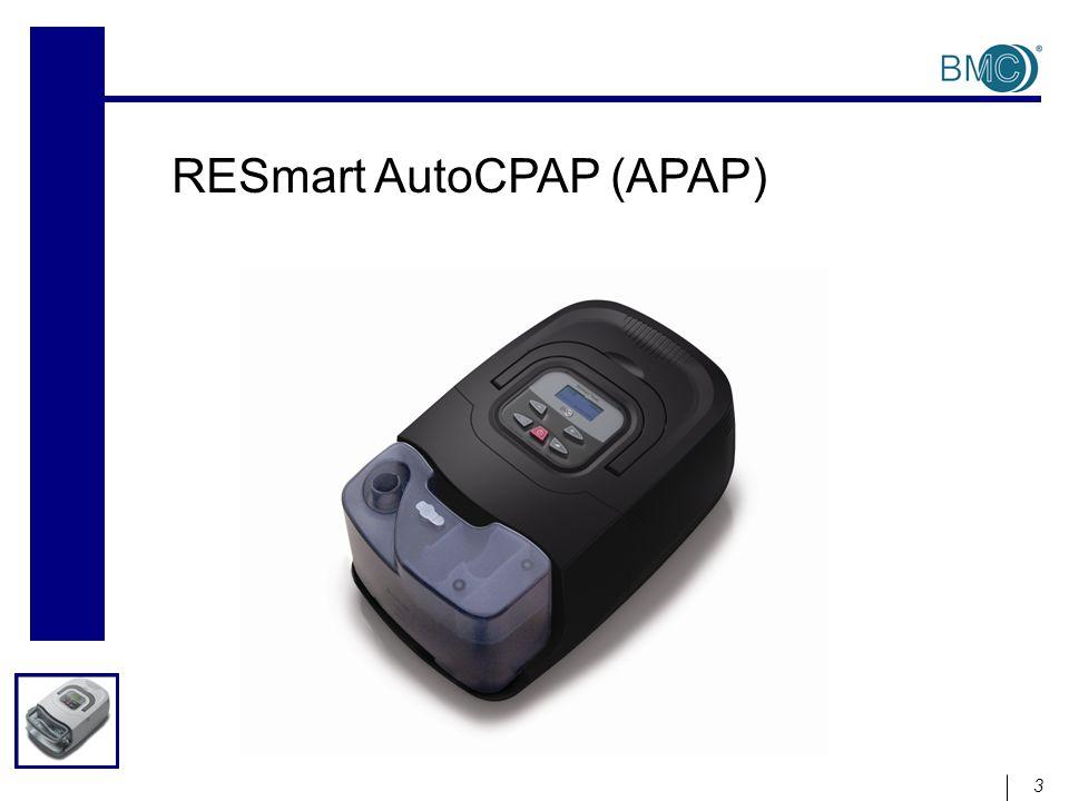 Configuración de AutoCPAP Operación de AutoCPAP en modo Titulación La presión cambiará de ¨Ramp P¨ a ¨Max APAP ¨