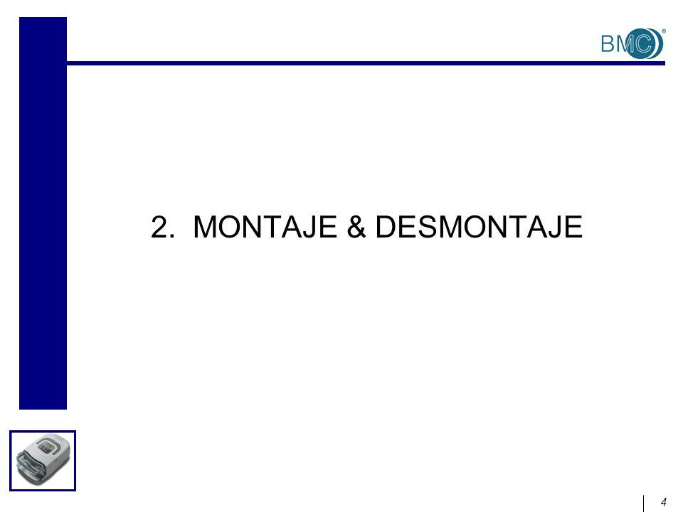 4 2. MONTAJE & DESMONTAJE