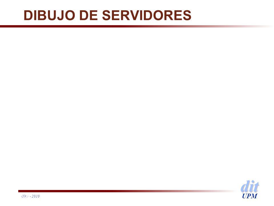 dit UPM DIBUJO DE SERVIDORES Nr. - 2010