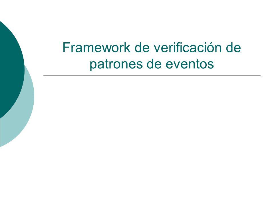 Framework de verificación de patrones de eventos