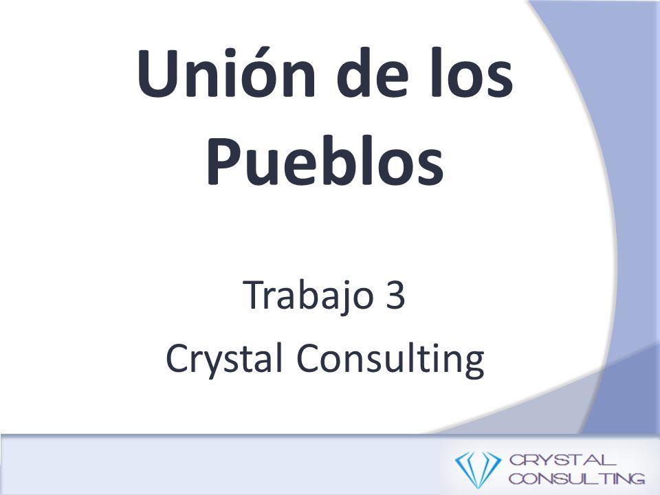Unión de los Pueblos Trabajo 3 Crystal Consulting