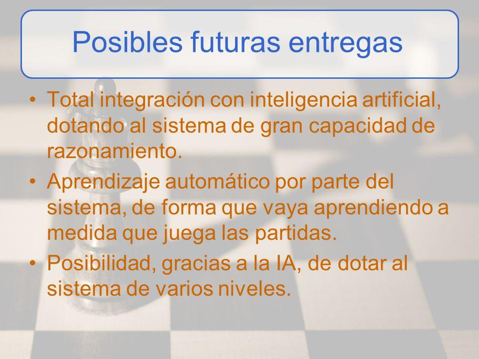 Total integración con inteligencia artificial, dotando al sistema de gran capacidad de razonamiento. Aprendizaje automático por parte del sistema, de