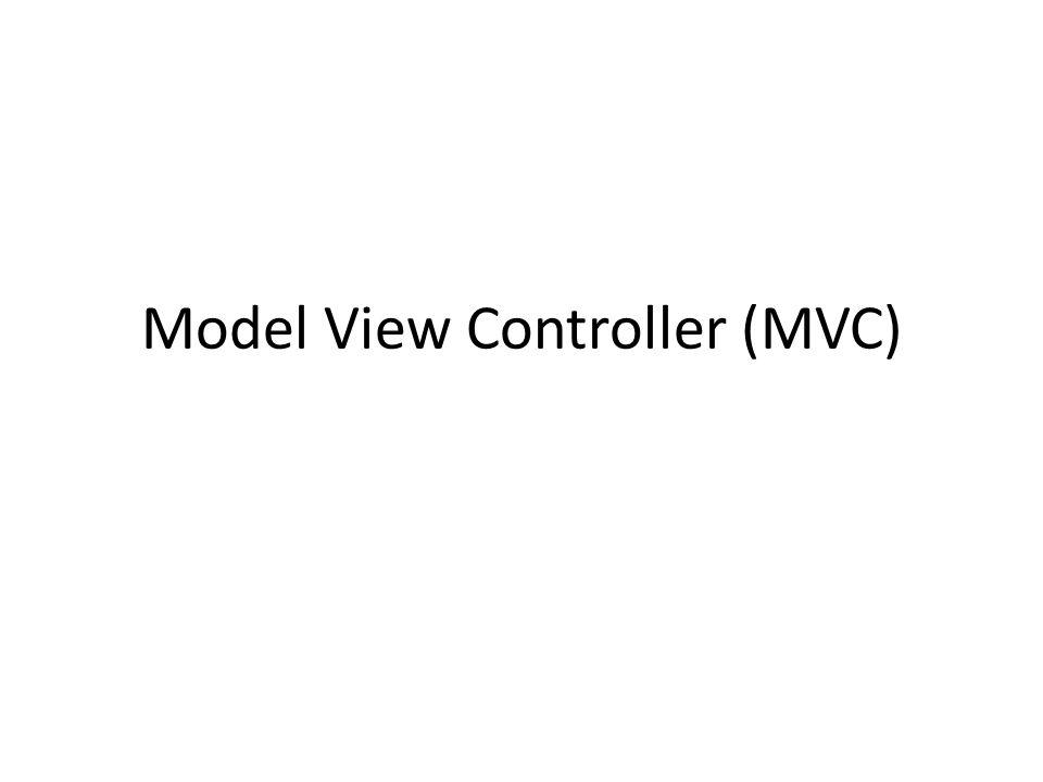 Definición Modelo Vista Controlador (MVC) es un estilo de arquitectura de software que separa los datos de una aplicación, la interfaz de usuario, y la lógica de control en tres componentes distintos.