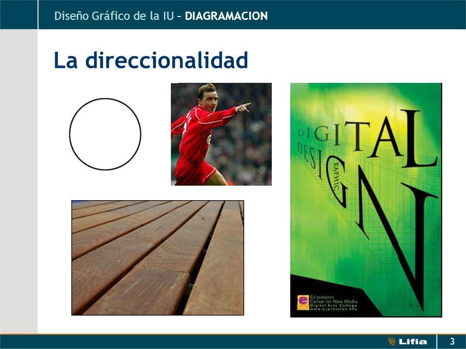 3 La direccionalidad Diseño Gráfico de la IU – DIAGRAMACION