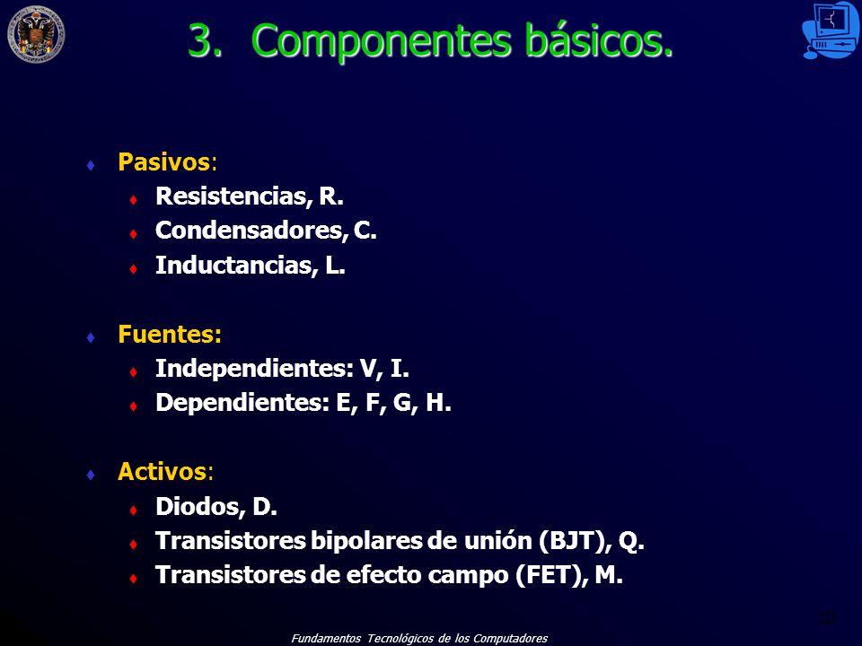 Fundamentos Tecnológicos de los Computadores 10 3.