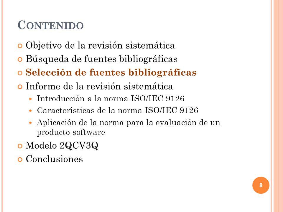 19 C ARACTERÍSTICAS DE LA NORMA ISO / IEC 9126 Funcionalidad Fiabilidad Usabilidad Conjunto de atributos que miden el esfuerzo cognitivo necesario que deben realizar los usuarios para utilizar el sistema software.