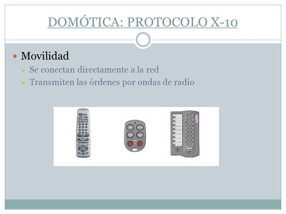 Movilidad Se conectan directamente a la red Transmiten las órdenes por ondas de radio