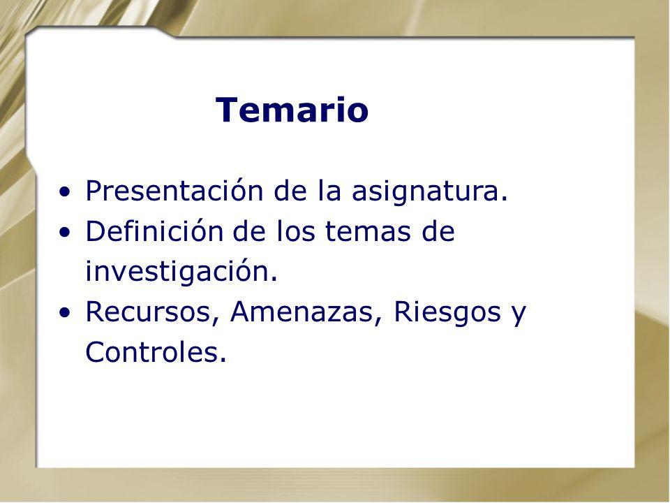 Seguridad y Auditoria de Sistemas Ciclo 2009-2 Conceptos básicos de Riesgos y Seguridad Ing. Yolfer Hernández, CIA