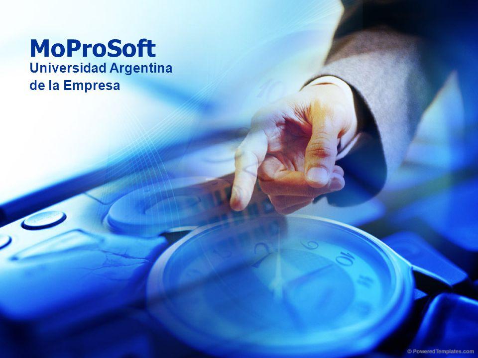 MoProSoft Universidad Argentina de la Empresa