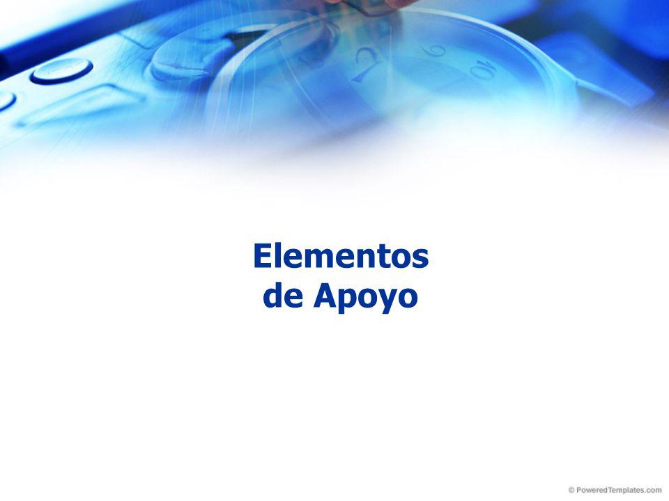 Elementos de Apoyo