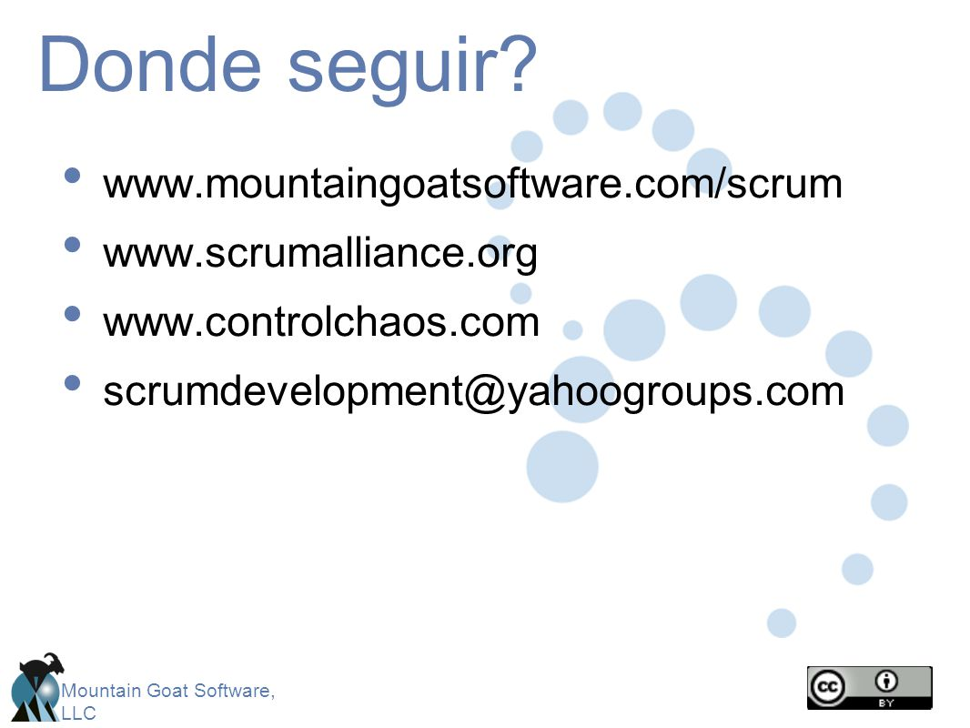 Mountain Goat Software, LLC Donde seguir.