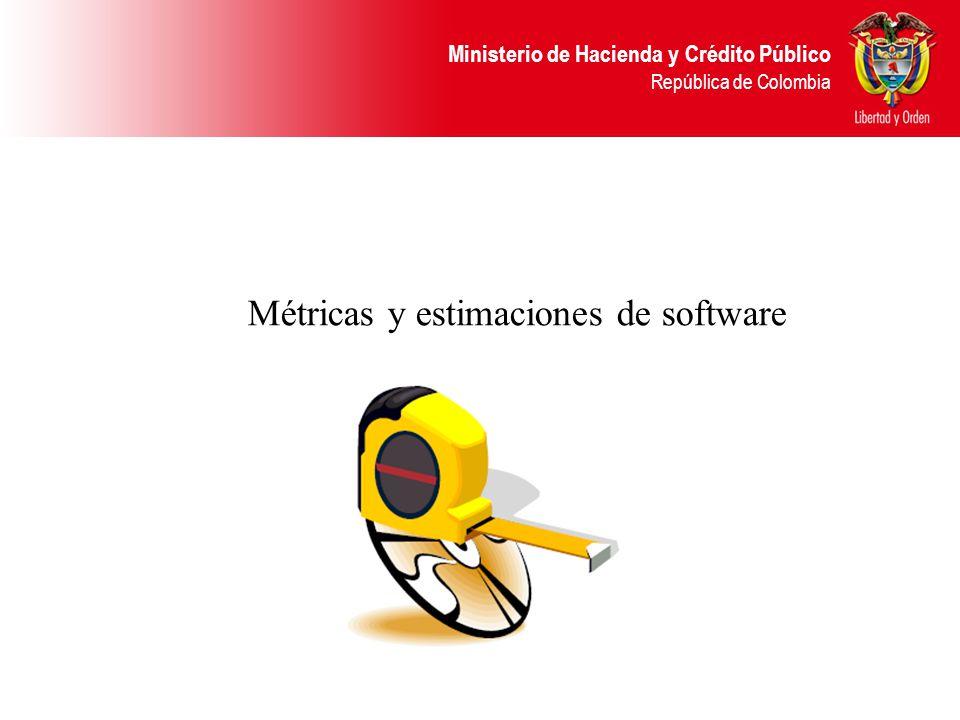 Métricas y estimaciones de software
