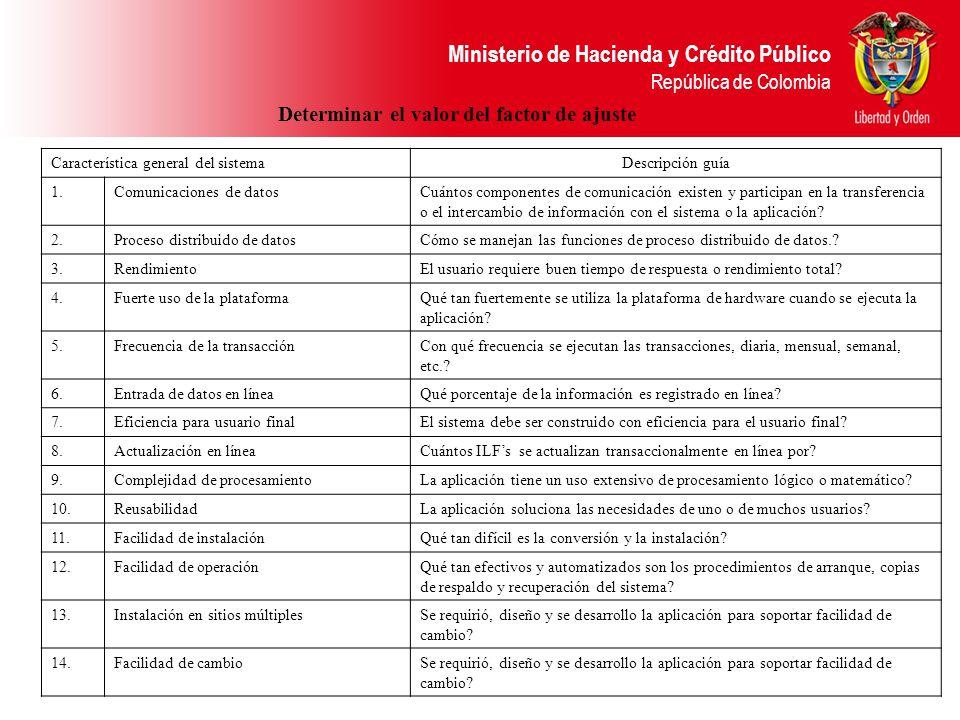 Ministerio de Hacienda y Crédito Público República de Colombia Característica general del sistemaDescripción guía 1.Comunicaciones de datosCuántos com