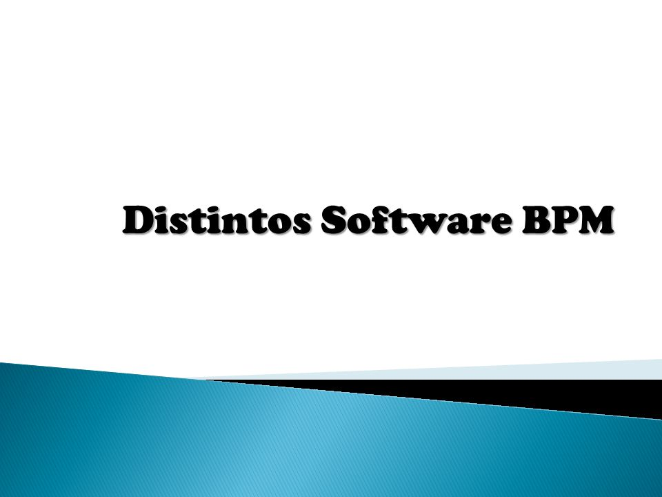 Distintos Software BPM