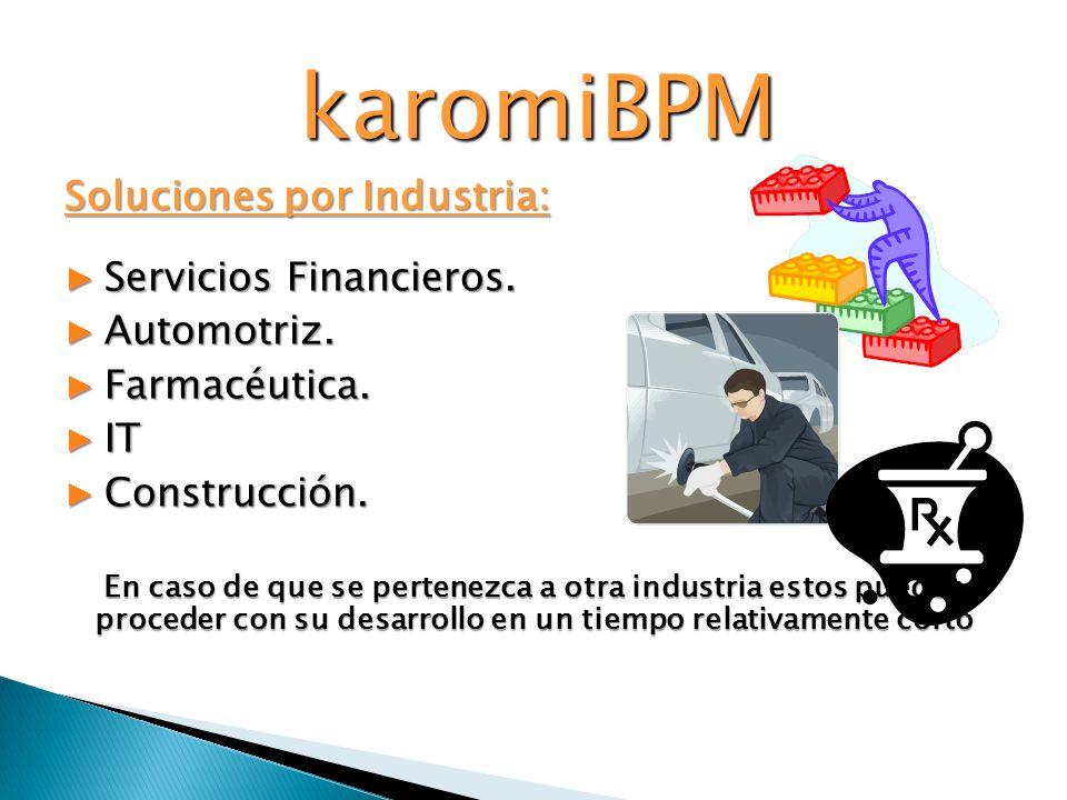 Soluciones por Industria: Servicios Financieros.Servicios Financieros.
