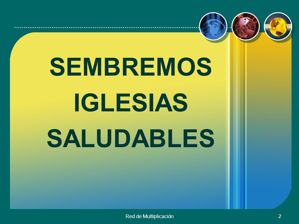 Red de Multiplicación33 LIDERAZGO Prof.