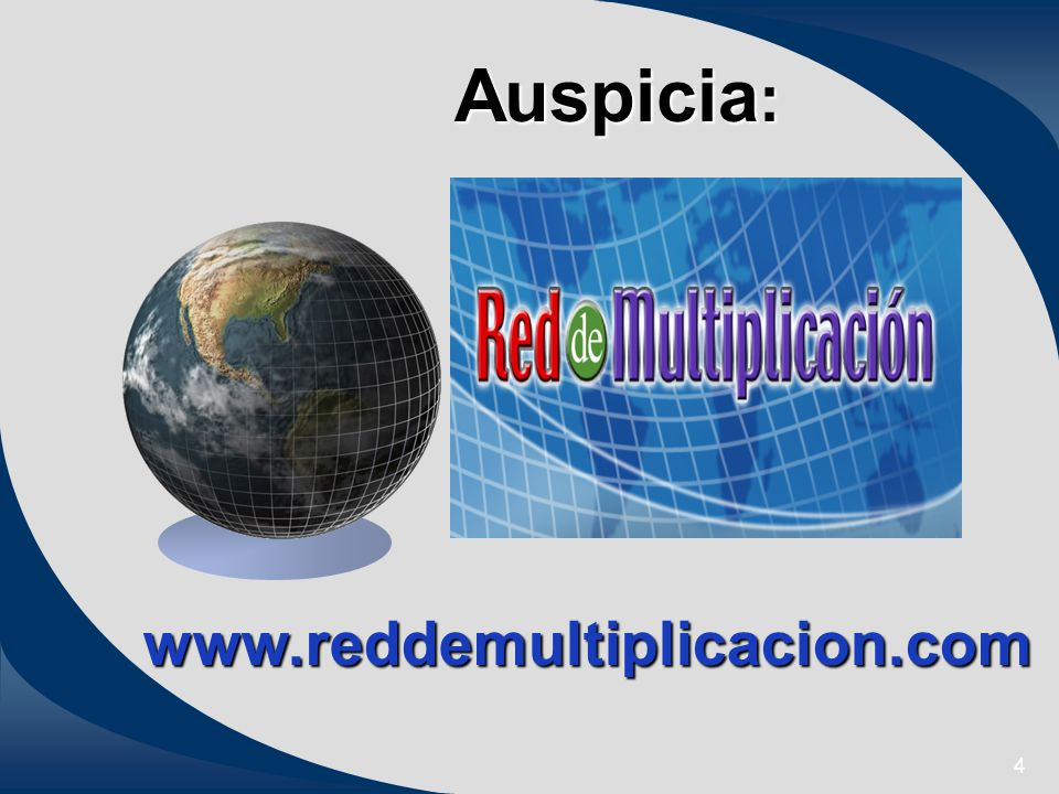 4 Auspicia : www.reddemultiplicacion.com